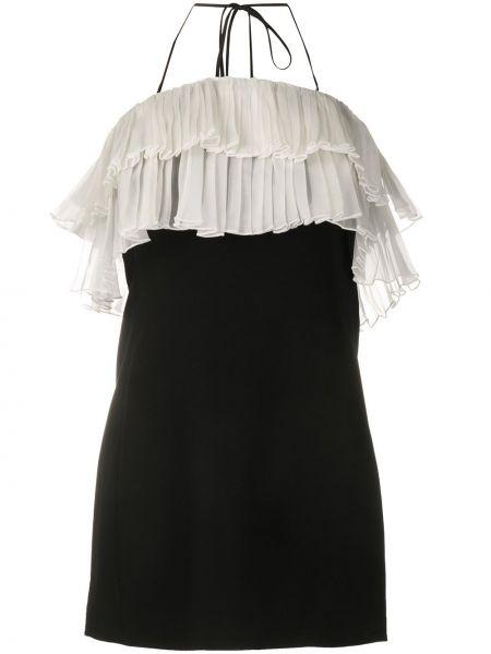 Платье мини с рукавами с вырезом Alexis