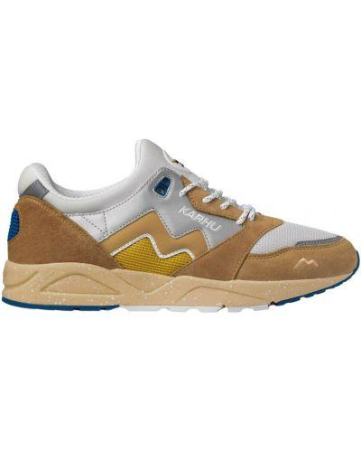 Beżowe sneakersy Karhu