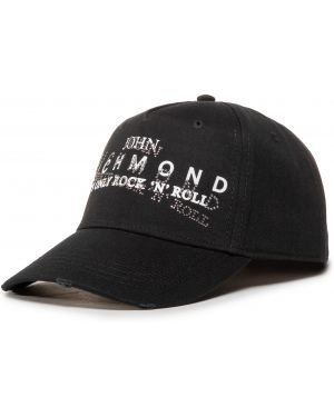 Czarna czapka John Richmond