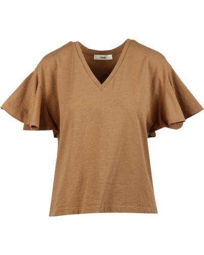 Brązowy t-shirt Suoli
