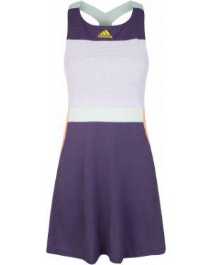Фиолетовое спортивное теннисное платье Adidas