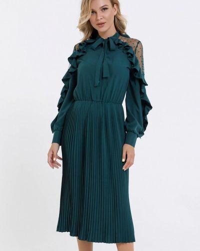 Зеленое вечернее платье Magnet