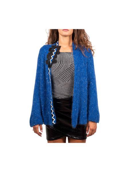 Niebieski sweter Hanita