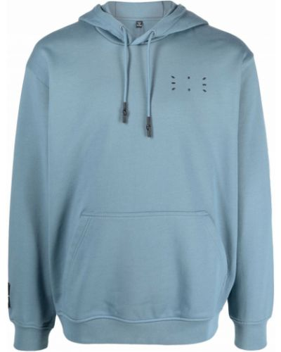 Niebieski sweter z kapturem Mcq