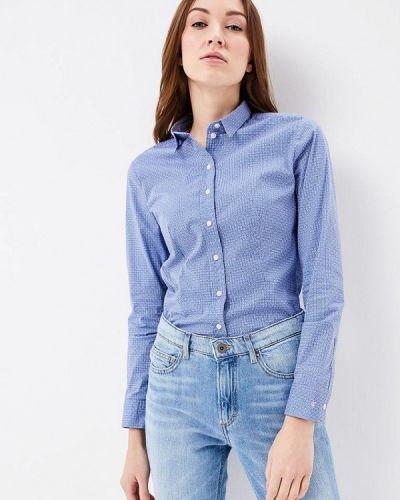 Голубая рубашка Marc O`polo