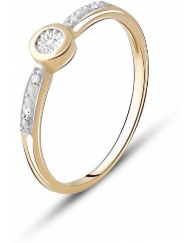 Серебряное кольцо с бриллиантом Silveralex