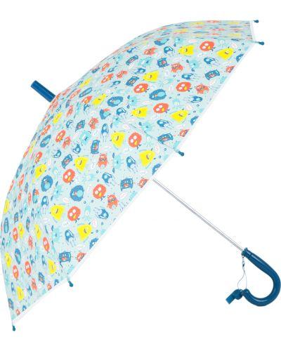 Серый зонт Kdx