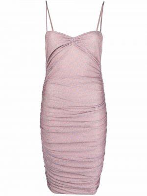 Приталенное платье мини - розовое Missoni