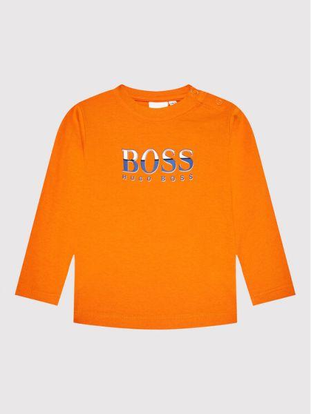 Koszula - pomarańczowa Boss