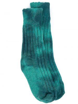Синие носки с принтом The Elder Statesman
