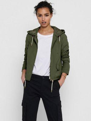 Облегченная куртка хаки Only