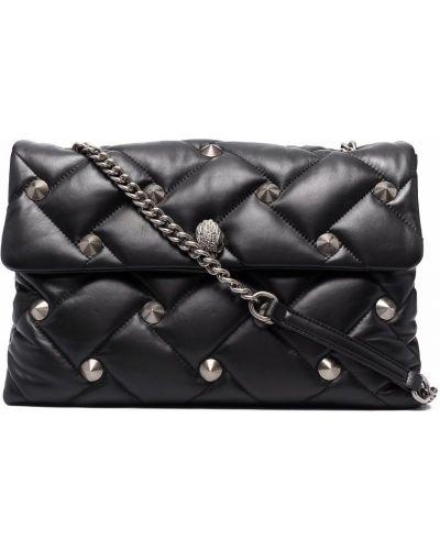 Czarna torebka pikowana Kurt Geiger London