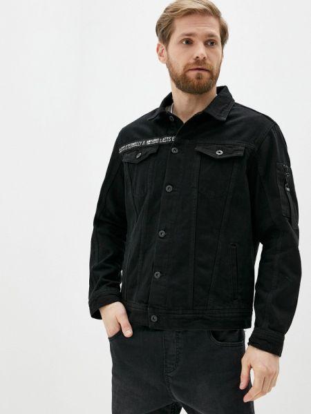 Черная джинсовая куртка прозрачная Defacto