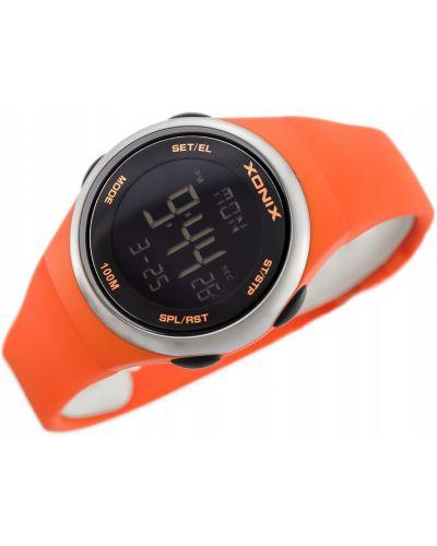 Klasyczny czarny zegarek Xonix