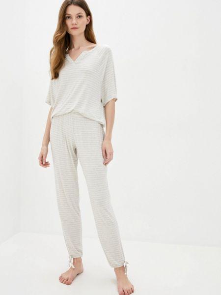 Бежевая пижамная пижама Marks & Spencer