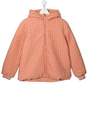 Pomarańczowa klasyczna kurtka Marni Kids