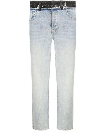 Прямые джинсы укороченные mom Denim X Alexander Wang