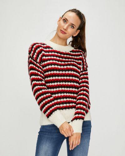 Вязаный свитер в полоску шерстяной Silvian Heach