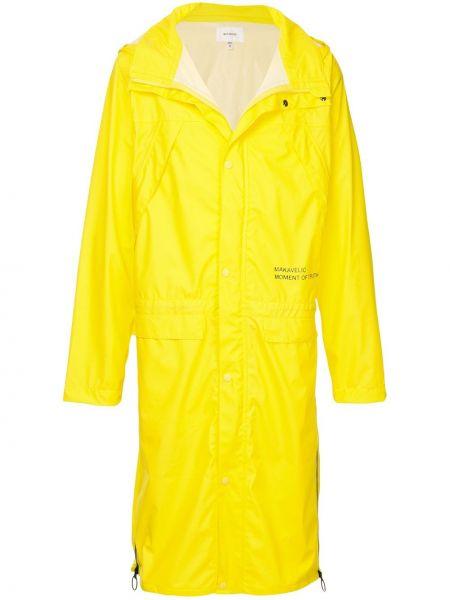 Płaszcz przeciwdeszczowy - żółty Makavelic