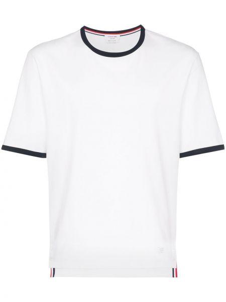 Koszula krótkie z krótkim rękawem klasyczna sport Thom Browne