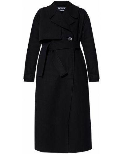 Długi płaszcz - czarny Jacquemus
