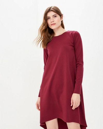 Платье бордовый красный Coclo