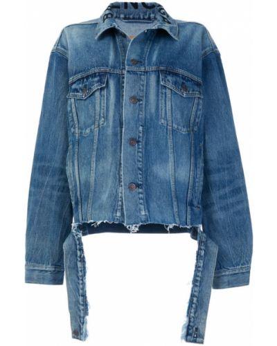 Джинсовая куртка длинная Balenciaga