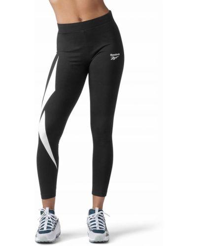 Klasyczne czarne legginsy bawełniane Reebok