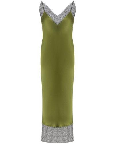 Вечернее платье с бахромой со вставками Walk Of Shame