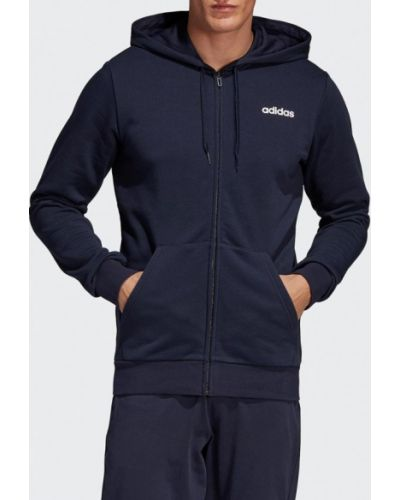 Толстовка синий Adidas
