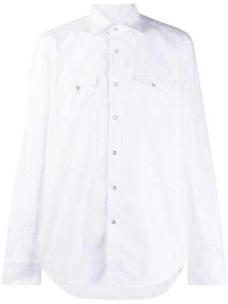 Koszula klasyczna prosto z kołnierzem Dell'oglio