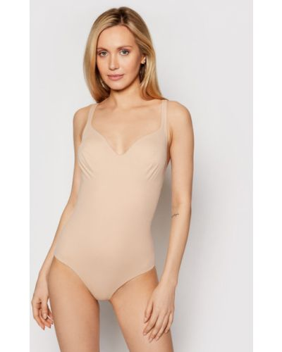 Beżowy body Wolford
