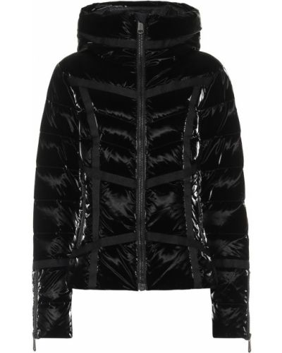 Пуховая черная куртка Goldbergh