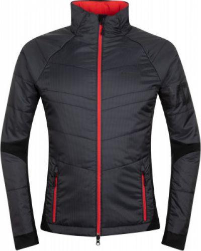 Черная утепленная куртка для бега Madshus