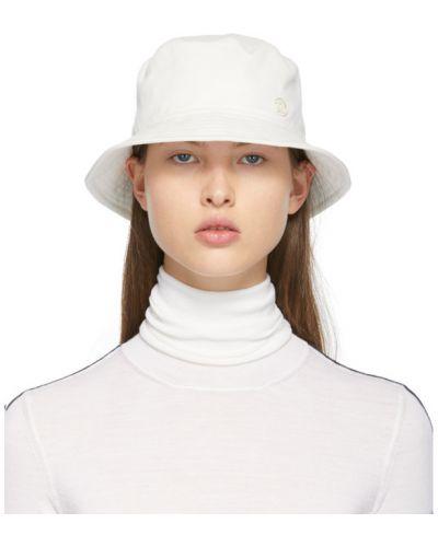 Хлопковая черная шапка с подкладкой Maison Michel
