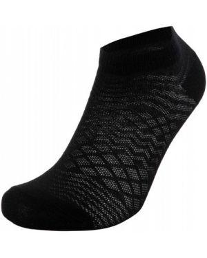 Хлопковые черные спортивные компрессионные носки Wilson