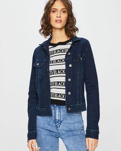 Джинсовая куртка на пуговицах облегченная Lee