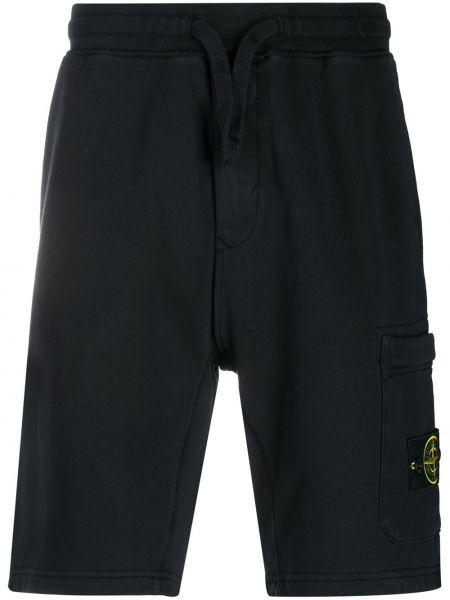 Короткие шорты с карманами Stone Island
