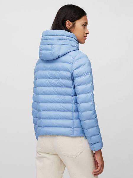 Синяя куртка с капюшоном на молнии Marc O'polo