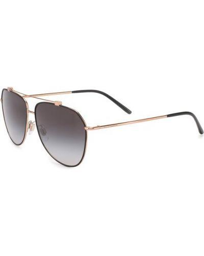 Солнцезащитные очки с градиентом пластиковые Dolce & Gabbana