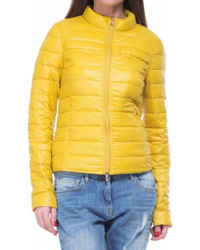 Желтый пуховик Patrizia Pepe