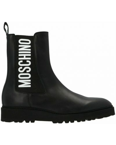 Ankle boots - czarne Moschino