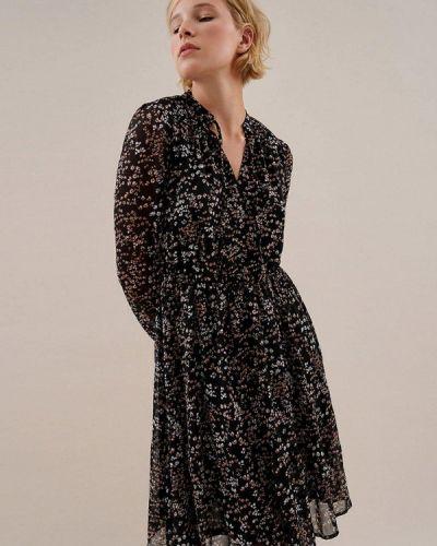 Прямое платье - черное O'stin