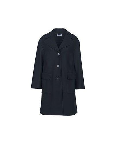 Пальто свободное осеннее с накладными карманами Valentino Red