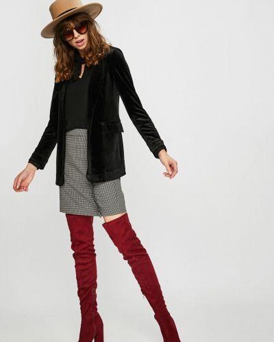 Классический пиджак черный с подкладкой Silvian Heach