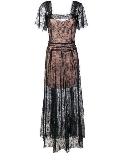 Платье мини приталенное с квадратным вырезом Twin-set