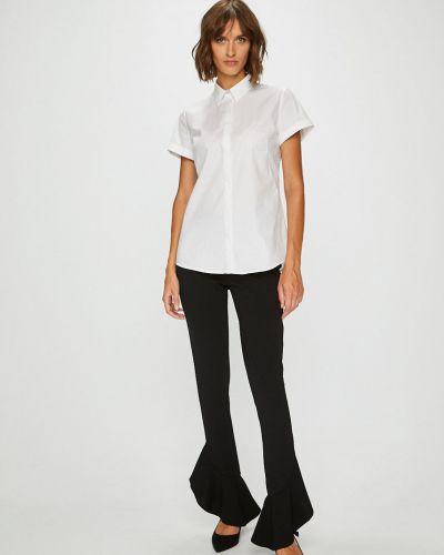 Блузка с коротким рукавом в клетку на пуговицах Answear