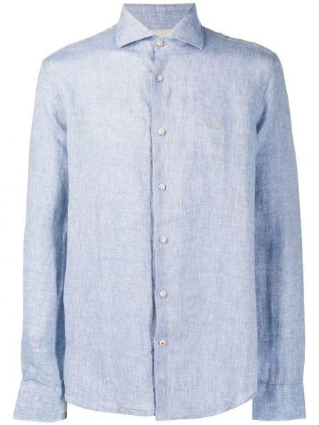Koszula z długim rękawem prosto długa Seventy