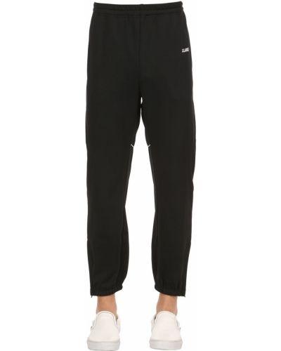 Czarne spodnie X-large