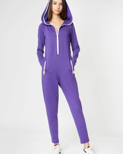 Комбинезон спортивный фиолетовый Sugarlife